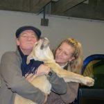 Roucky, Stéphanie et son père