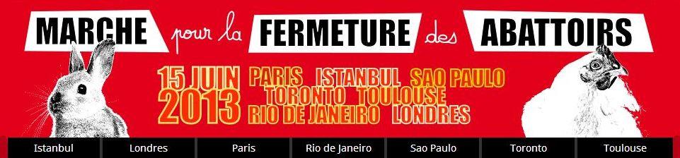 Bandeau du site internet de la Marche