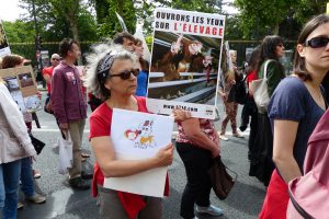 Charly Le Blanc soutient la Marche pour la Fermeture des Abattoirs