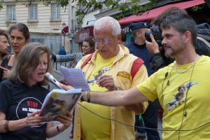 Grande Manifestation unitaire contre la vivisection - Paris 2015