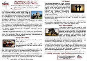 Tract International Campaigns < Pourquoi devenir vegan ? >